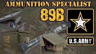 89B Ammunition Specialist