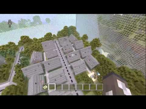 Minecraft (Xbox 360) - The Hunger Games Ruin City Map with Download Link