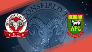 201819 Highlights   Beaconsfield Town FC v Hendon FC 26 01 2019 Evo Stik South Premier League