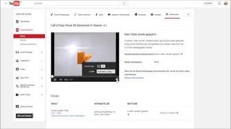 Urheberrechtsverletzung auf YouTube - Video WELTWEIT gesperrt !!!