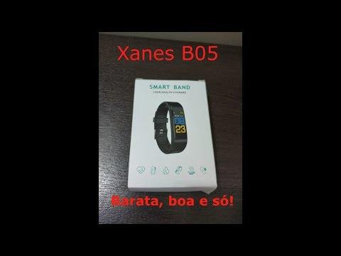 Xanes B05 - Apresentação e análise uma Smart Band baratinha!
