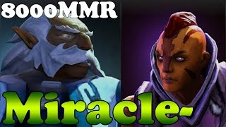 Dota 2 - Miracle- 8000MMR Plays Anti-Mage and Zeus - Ranked Match Gameplay