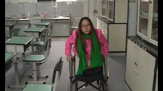 Repeat youtube video Chinese amputee girl aims for sky