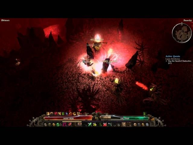 GER】GRIM DAWN 1 0 0 5 NEW IMBA ? Cadence Witchblade best of