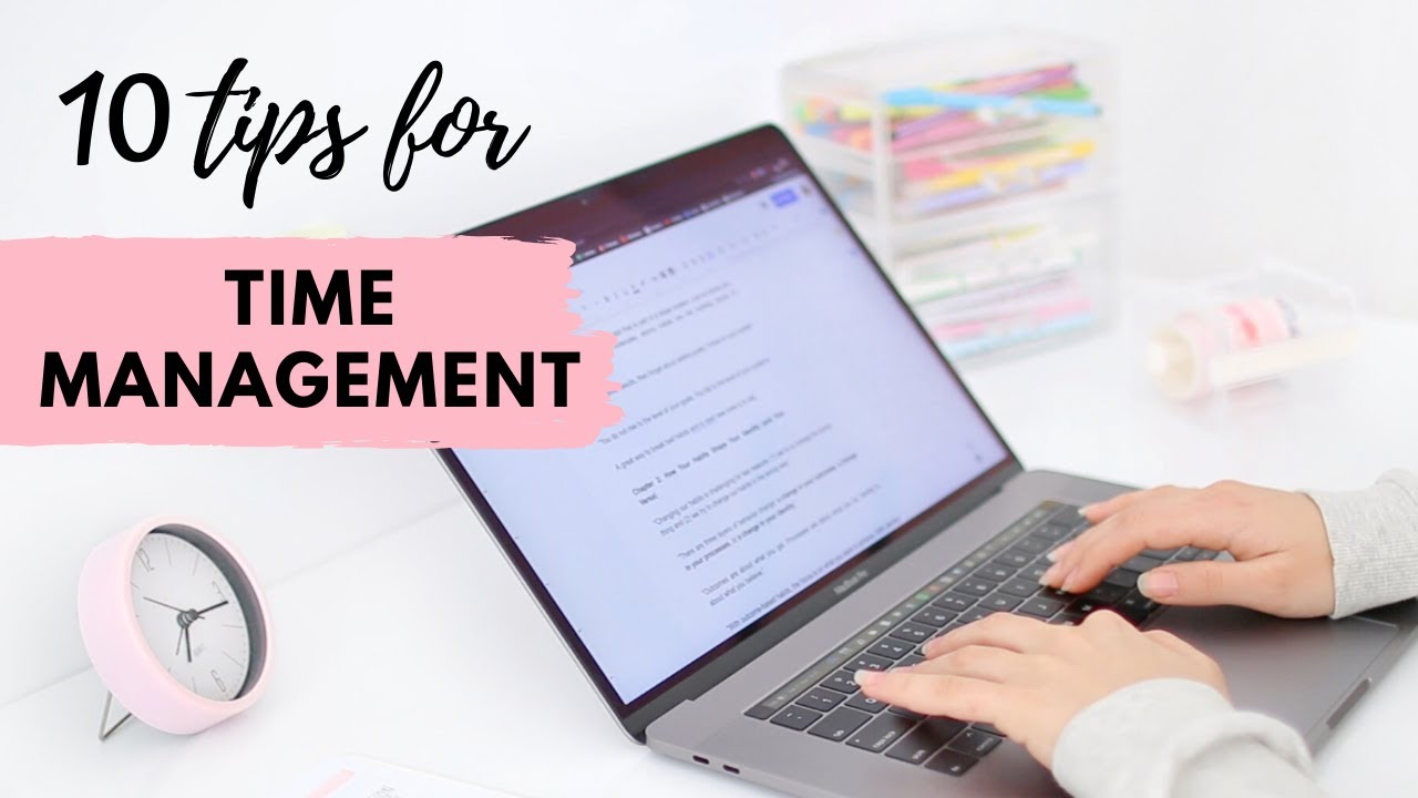 How to manage your time as a student | 10 Tips to stop procrastinating & get things done!