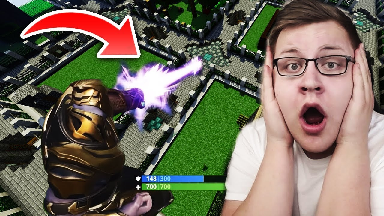 FORTNITE THANOS IN MINECRAFT *HACK* GEFUNDEN!