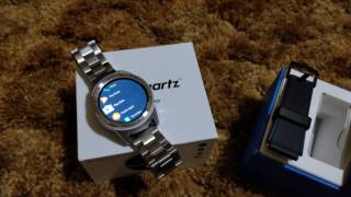 ZTE Quartz Android Wear 2.0 Smartwatch Quick Overview