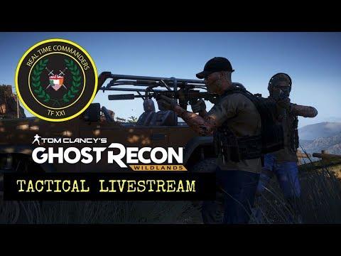 Ghost Recon Wildlands: Operation Vanguard: Tactical livestream