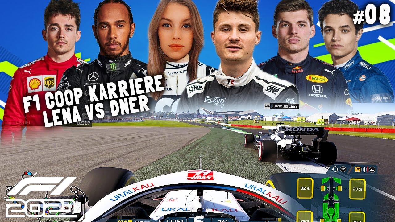 Download WAAARUUM LENA? 🤬 | F1 2021 Coop Karriere #08 | Lena & Dner
