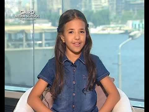 Retaj Maged - TV Presenting for Kids August Workshop