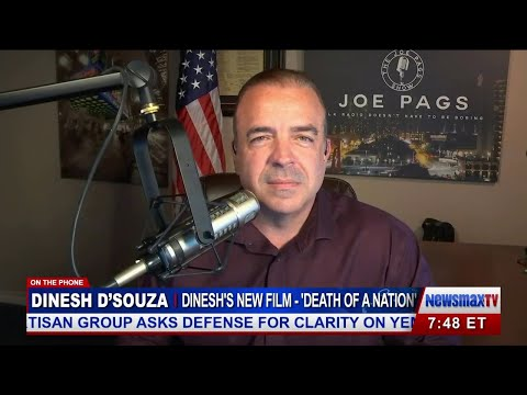 """Dinesh D'Souza on Obama and His New Movie """"Death of a Nation"""""""
