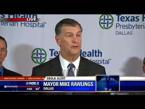 Dallas media conference on Ebola