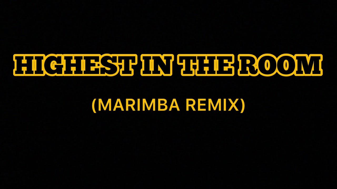 Travis Scott - Highest In The Room (marimba remix)