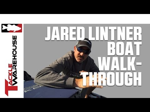 Boat Walk-Through With BASS Elite Series Angler Jared Lintner