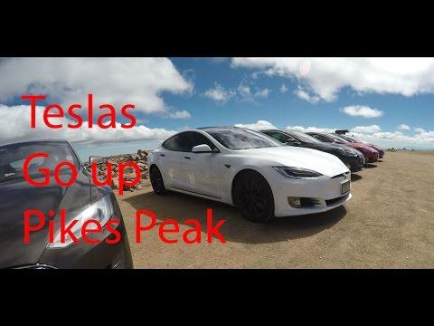 Pikes Peak Tesla Drive