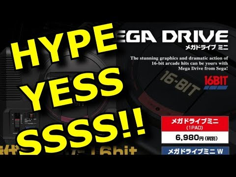 Sega is Making a Genesis/Mega Drive MINI!! NOT AtGames TRASH! thumbnail