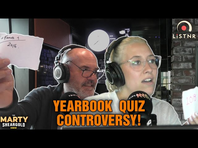 Yearbook Quiz Controversy: Troy's Answer Was Wrong! | The Marty Sheargold Show | Triple M
