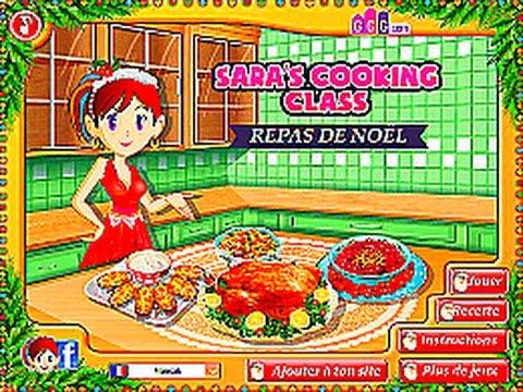 Mlle cassou dinde de no l ecole de cuisine de sara - Girlsgogames ecole de cuisine de sara ...