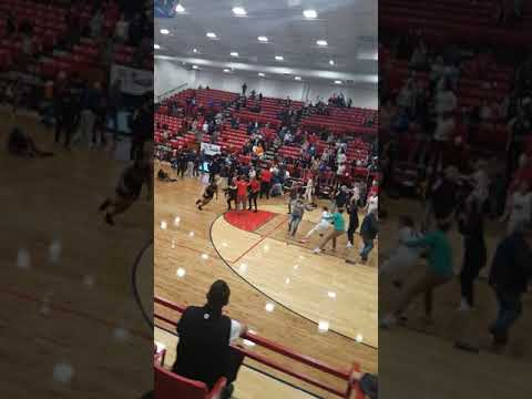 Fight at Po Hi in Ponca City Oklahoma against East Central Tulsa.