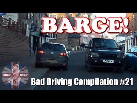 Bad Drivers UK Dash Cam Compilation #21