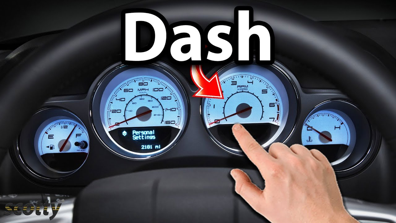 How To Remove Dashboard In Your Car Youtube 1997 Blue Bird Wiring Diagram Cluster
