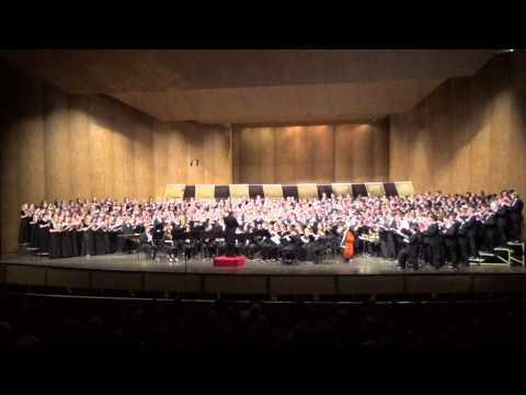 Iowa State University Combined Choirs & Wind Ensemble -