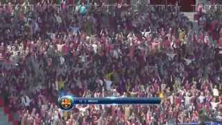 Cloudio Bravo Goal Superstar Difficulty PES 2015 Demo