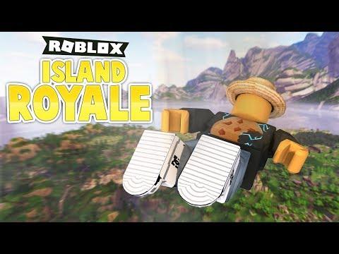 FORTNITE IN ROBLOX! (Roblox Island Royale)