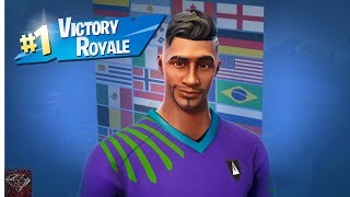 Getting A Victory Royale With The Midfield Maestro Skin (Fortnite Battle Royale)
