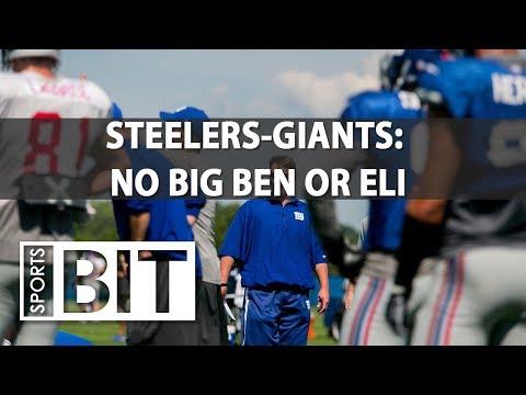 Pittsburgh Steelers at New York Giants | Sports BIT | NFL Picks