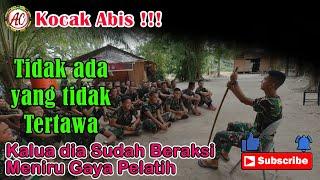 Kocak !!! Aksi Lucu Prajurit  Remaja Meniru gaya bicara Semua Pelatihnya- Video Lucu TNI