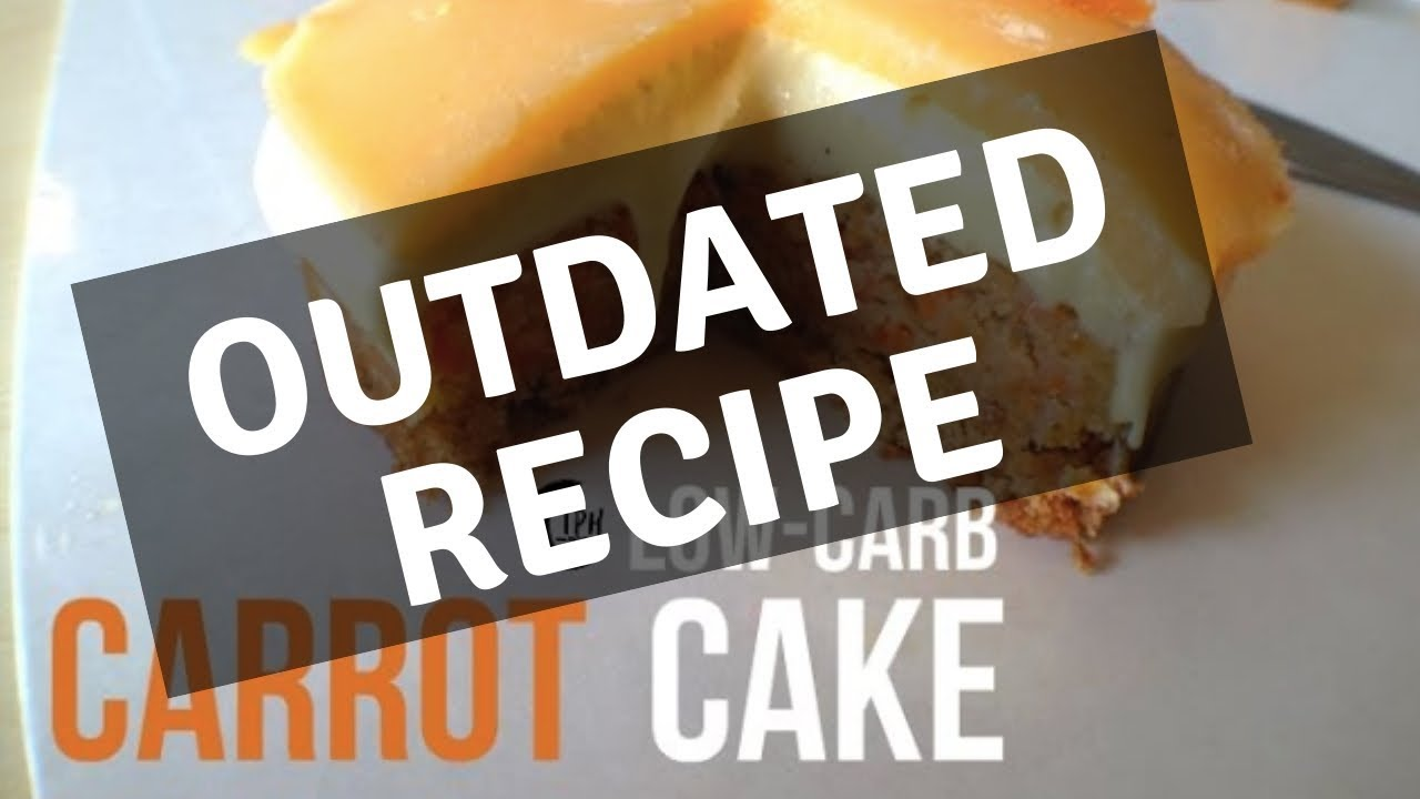 Keto Diet Carrot Cake Recipe: Low-Carb Recipe - YouTube