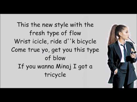 Side to Side - Ariana Grande ft.Nicki Minaj (lyric)