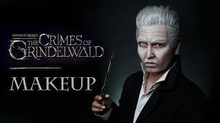 Grindelwald | Johnny Depp Makeuptransformation | Фантастические твари: Грим Гриндевальда