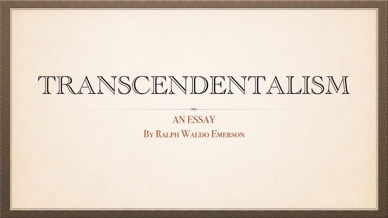 ralph waldo emersons essay on compensation Ralph waldo emerson, essays 1st & 2nd series everyman's library 1914 see more like this new listing the essays of ralph waldo emerson new sealed leather collector edtion, gold gilt $6995.