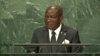 Vídeo: Discurso de José Mário Vaz na Assembleia Geral da ONU