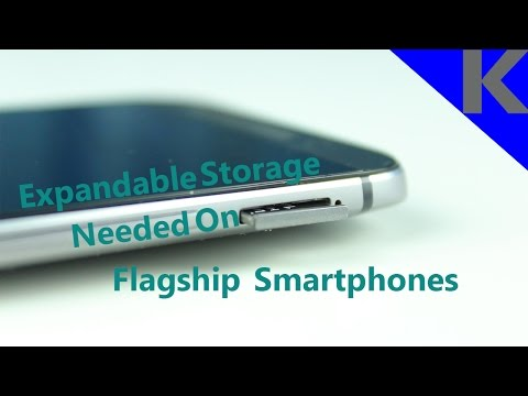 Expandable Storage Needed On Flagship Smartphones