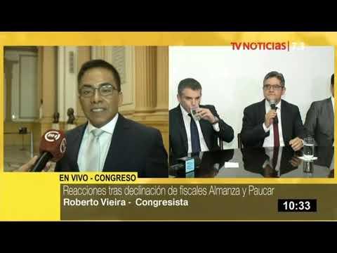 """Roberto Vieira: """"Pedro Chávarry no debió remover a Pérez y Vela"""""""