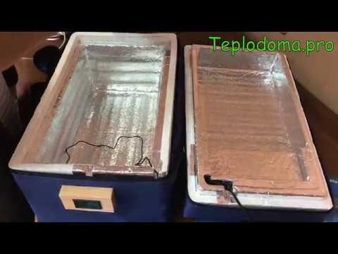 Сумка термос с автономным  электроподогревом от встроенного аккумулятора и сети 12 и 220 В