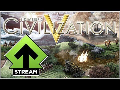 Level Up Streamer Civilization V (opptak)