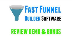 [NEW Software] Fast Funnel Builder Review Demo Bonus - Build Mini Funnels for Any Niche in Minutes