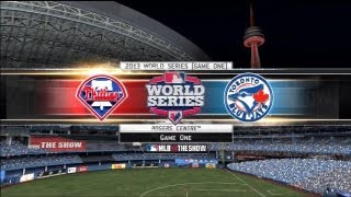 MLB 13 The Show Gameplay - 2013 World Series