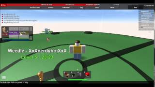 Pokemon Adventures by IllIl (illil) on ROBLOX. Ep. 4 from ALEX!