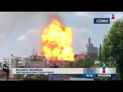 ¡Se cayó el Monumento a la Madre! Delegación Cuauhtémoc en emergencia por sismo
