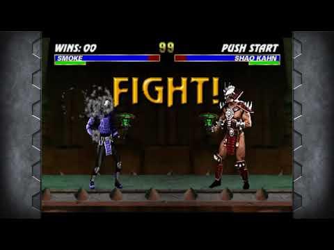 Mortal Kombat Arcade Kollection (PC) Ultimate Mortal Kombat 3 Smoke Longplay U0026 All Endings