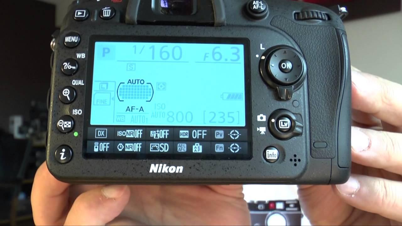 инструкция на никон д7100