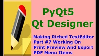 Qt Creator Python