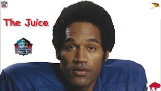 O.J Simpson (The Best Player of The 1970's) NFL Legends