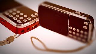 Крутое FM Радио, MP3 плеер фонарик   алиэкспресс обзор