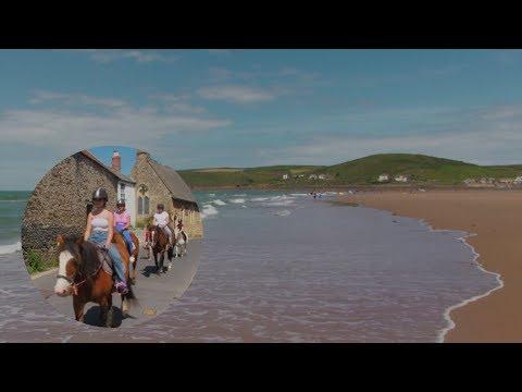 Croyde Beach And Village North Devon.